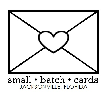 small • batch • cards