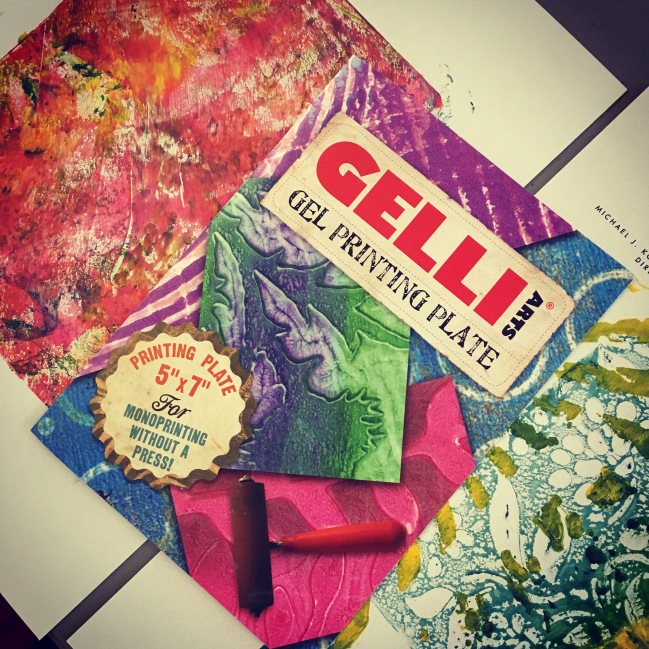 love my gelli plate!