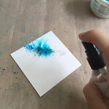 spray one