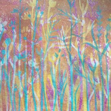 garden print